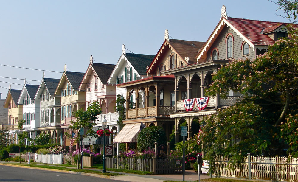 Victorian Homes in Cape May New Jersey